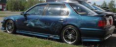 Peinture au airbrush sur ma Honda Accord SE 1991