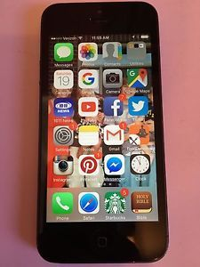 Cheap iPhone 5 in excellent condition for sale on Ebay on the fastest 4G LTE Verizon network.