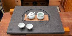 Earth & Sky Stone Tea Tray