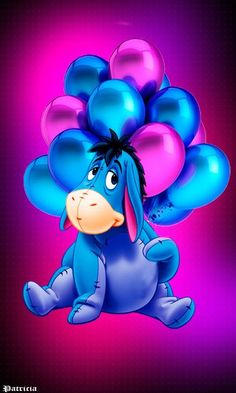 Happy birthday Eeyore May 1871 Cute Winnie The Pooh, Winnie The Pooh Quotes, Cute Disney Wallpaper, Cartoon Wallpaper, Pooh Bear, Tigger, Eeyore Pictures, Eeyore Images, Birthday Wishes