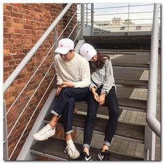 Korean Street Fashion for Couple Outfit