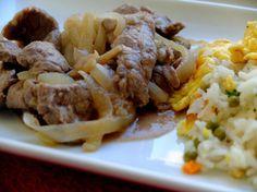 BOEUF AUX OIGNONS recette de Cooking Whit Morgane