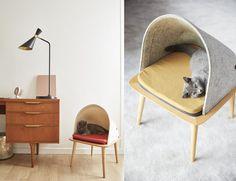 Crowdfunding : Mobilier BED pour chat par Meyou Paris