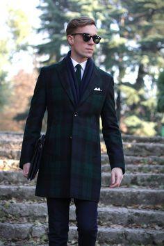 Men's Fashion Inspiration. Beautiful overcoat. SANTA CLAUS!!!:)