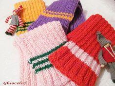 Fulare diverse culori Fingerless Gloves, Arm Warmers, Fingerless Mitts, Fingerless Mittens