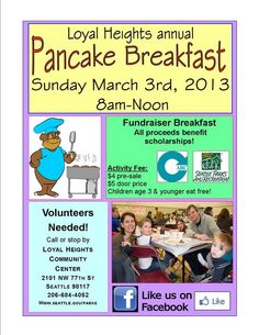 1000+ images about Pancake breakfast fundraiser on ...