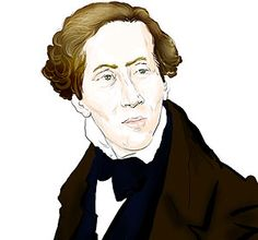 Famous Bipolar People - Hans Christian Andersen