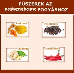 Fűszerek az egészséges fogyáshoz | Socialhealth