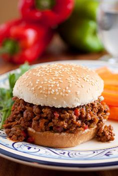 Sloppy Joes - Always a favorite. Recipe by @cookingclassy