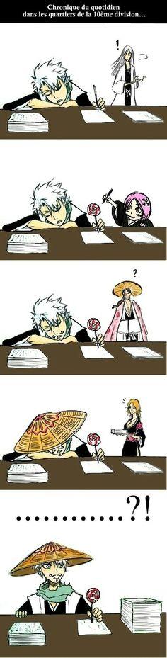 Poor Toshiro