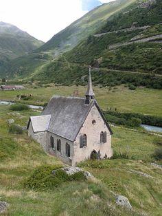 Anglikanische Kapelle (Gletsch), Valais