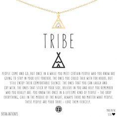 Tribe Friendship Necklace 14k Matte Gold