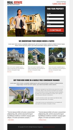 Real estate landing page design to promote your real estate business Real Estate Business, Real Estate Investing, Commercial Realtor, Real Estate Landing Pages, Real Estate Website Design, Real Estate Leads, Landing Page Design, Marketing, Blog