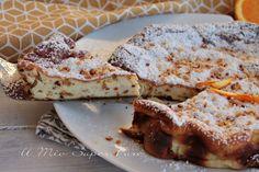 Torta magica alla ricotta con nocciole ricetta senza lievito e farina