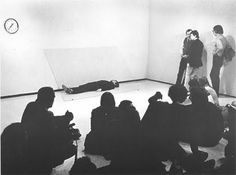 Doomed, which took place Chicago's Museum of Contemporary Art in April of 1975.