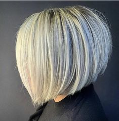 Short Inverted Bob Haircuts, Best Short Haircuts, A Line Hair, Line Bob Haircut, Haircuts For Fine Hair, Dull Hair, Good Hair Day, Long Hair Cuts, Cool Hairstyles