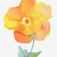 Margaret Berg Art: Yellow Rose