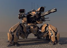 Annihilator battlemech #3 by Avitus12.deviantart.com on @deviantART
