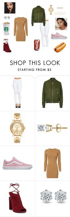 """Cute date to chic daring skater girl"" by anonymousdesigner2003 ❤ liked on Polyvore featuring Topshop, Michael Kors, Vans, A.L.C. and Kenneth Cole"