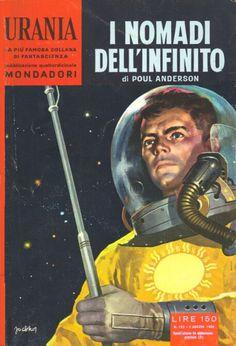 183  I NOMADI DELL'INFINITO 3/8/1958  STAR WAYS  Copertina di  Carlo Jacono   POUL ANDERSON