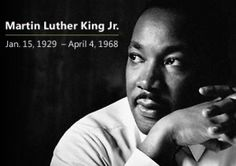 """A man of honor and virtue, Martin Luther King Jr gave his life changes he would like to see in our country,"". ""He was the voice of speech, and hope for the hopeless … without them I would not be a great opportunity for life, liberty and the pursuit of happiness."""