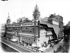 The Lost 1905 New York Hippodrome -- 6th Avenue between 43rd and 44th Streets
