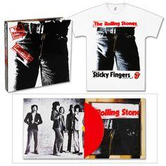 Check out Rolling Stones Sticky Fingers Vinyl Box Set on @Merchbar.
