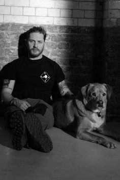 "Fun and Gorgeous Pics of Tom Hardy and Chips Hardy,looks like the work of Greg Williams Photography..also check out the handsome The Wonderous Woodstock H **Remember to Watch ""Taboo"" by Chips and Tom..."