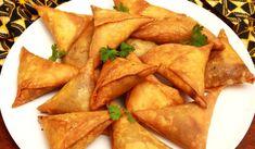 Hovězí Samosas_web Beef Samosa Recipe, Sambusa Recipe, Indian Food Recipes, Ethnic Recipes, Kenyan Recipes, African Recipes, Snack Recipes, Cooking Recipes