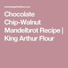 Chocolate Chip-Walnut Mandelbrot Recipe | King Arthur Flour