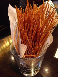 Delicious crunchy noodle snacks in Toyko
