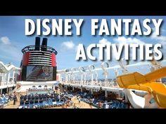 ▶ Disney Fantasy Review: Activities -- Disney Cruise Line -- Cruise Ship Review – PopularCruising.com