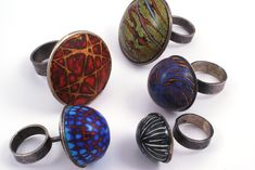 Ford & Forlano - Rings - Polymer Clay, Silver