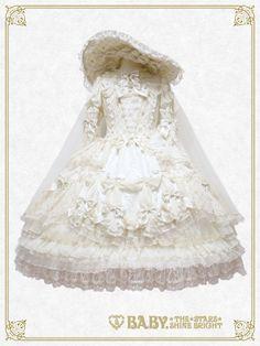 Chère Princesse, Vivez un Brillant Avenir Dress Set [build-to-order manufacturing - limited production]