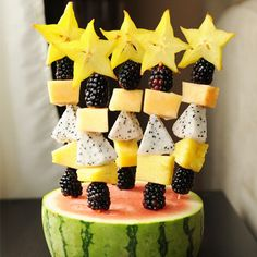 Fruit Sparkler Wands