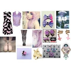 """""""another pastel goth"""" by empyyre on Polyvore"""