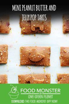 Mini Peanut Butter and Jelly Poptarts!