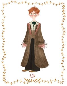 Ron Weasley by Silvia Brunetti.