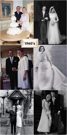 ca wedding photos including from the two marriages of Frank Sinatra and Mia Farrow. Also, Peter Sellers and his bride. 1960s Wedding, Vintage Wedding Photos, Vintage Bridal, Vintage Weddings, Wedding Bride, Wedding Gowns, Vintage Dresses, Vintage Outfits, Fashion History