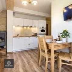 Apartament Szarotka - zapraszamy! #poland #polska #malopolska #zakopane #resort #apartamenty #apartamentos #noclegi #livingroom #salon #kitchenette
