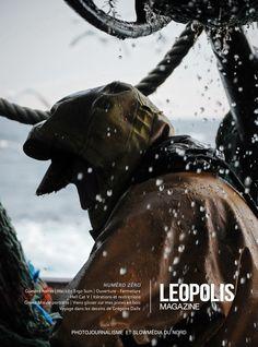 Couverture Leopolis Magazine - Numéro zéro  #leopolismagazine #LPM0 #photojournalism #editorial #editorialdesign #nord #lille #pêche