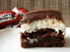 Mounds Brownies. This sounds yummy!