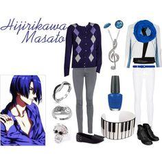 Casual cosplay  Masato Hijirikawa (Uta no Prince-sama)