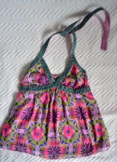 Kup mój przedmiot na #vintedpl http://www.vinted.pl/damska-odziez/bluzki-bez-rekawow/18064781-bluzka-bez-plecow-ml-kwiaty
