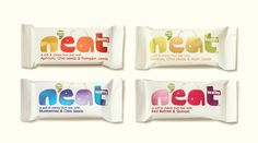 N'eat Energy Bars — The Dieline - Branding & Packaging Design