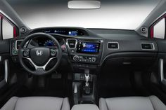 2014 Honda Civic Coupe Shows Off Makeover: 2013 Los Angeles Auto Show | Edmunds.