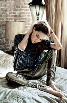 Rock 'n' Roll Style Erin Wasson by David Bellemere for Marie Claire Italia October 2014 - Google Search