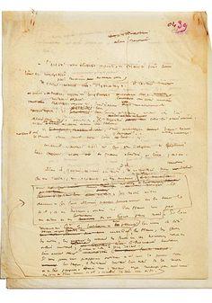 Le brouillon inconnu du Petit Prince de Saint-Exupéry : «Le brouillon date probablement de 1941, ce qui en fait un document antérieur à celui, tapuscrit, que possède la Bibliothèque nationale de France»