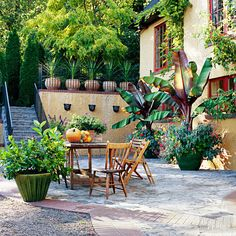Get instant inspiration for your garden and yard landscaping with these amazing before and after photos! See what you can do with plants, shrubs, stone, concrete and patio furniture to create an awesome outdoor space to eat, drink, relax and garden in.