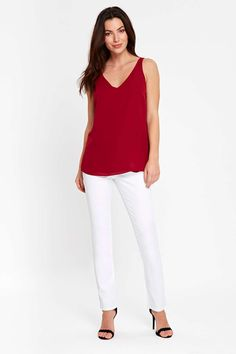 White Harper straight leg jeans  #wallisescapes